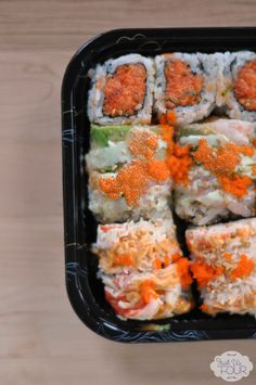 Sushi Salad - Spicy Girl Roll - Just Us Four
