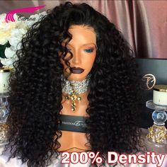 115.44$  Buy now - http://aliolo.worldwells.pw/go.php?t=32782382045 - 8A Full Lace Human Hair Wig 200 Density Glueless Full Lace Wigs For Black Women Malaysain Virgin Hair Human Hair Lace Front Wigs 115.44$
