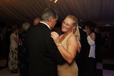 Gayle Palmer, The Class Captain, enjoys a dance at The Ball with Ray Stedman the previous Falmouth Class captain.