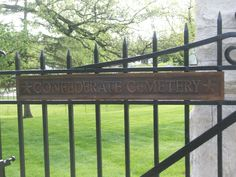 North Alton, Illinois - Confederate Cemetery - Entrance Gate (2)