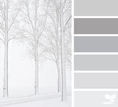 Winter white color palette . . . #wintercolor #winterwhite #colorscheme #colorpalette
