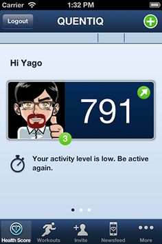 Major tracker app release! New QUENTIQ tracker app 1.5 for iPhone