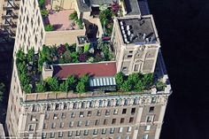A common staple in New York, this rooftop garden overlooks Central Park.