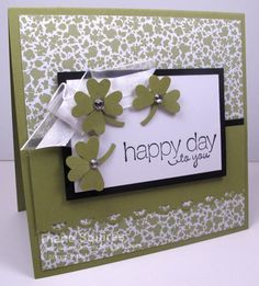 MOJO230 Sketch Challenge - Lucky Shamrock by sunshinedfs - Cards and Paper Crafts at Splitcoaststampers