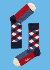 Happy Socks - Funky Colorful Socks For Men, Women & Kids. Funky Socks, Crazy Socks, Colorful Socks, Cool Socks, Men's Socks, Fashion Socks, Mens Fashion, Collor, Happy Socks