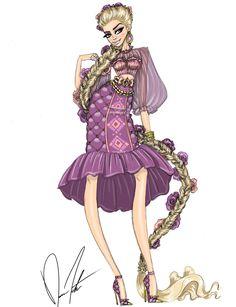 Disney fashion frenzy, Rapunzel, Under the floating lanterns by Daren J