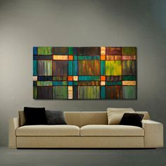 ABSTRACT ORIGINAL Painting Acrylic Impasto by americanartsgallery, $199.70
