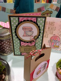 Card ideas using Lawn Fawn's Baked with Love stamp set