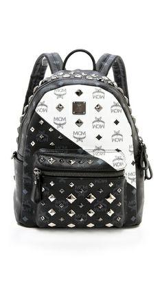 91a76af5e738 MCM Color Block Small Backpack Mcm Backpack