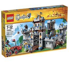 """LEGO Knights Castle Looking for great deals on """"LEGO Knights Castle Compare prices from the top online toy retailers. Save money when buying your LEGO play sets for your children and yourself. Lego Castle, Legos, Chateau Lego, Lego Ritter, Lego Knights, Black Friday Specials, Château Fort, Buy Lego, Shop Lego"""