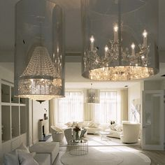 Chandelier Love #lighting #chandelier #interiordecor #interiordesign #interiordecorating #decor #design #designer #style #styled #stylish #fab #chic #glam #glamorous #gorgeous #stunning #lighting #livingroom #clean - @ellerb25- #webstagram