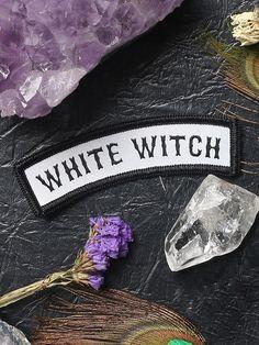 White Witch Patch - Gypsy Warrior