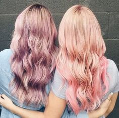 #Friends who use #ColorCraving together, stay together! #Keune #pastel #hair #haircolor