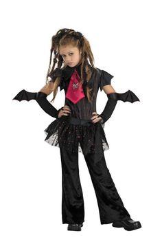 vampire bat chick halloween costume girls