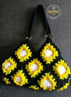 Sarinah Craft's: Flower Granny Bag