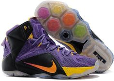 official photos d2565 03ca2 Nike LeBron 12 Purple Black-Yellow For Sale suppliers. Nike LeBron 12  Purple Black-Yellow For Sale and more o