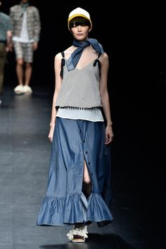 Asian Fashion Meets Tokyo коллекция   Коллекции весна-лето 2017   Токио   VOGUE