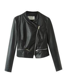 Street Fashion Pure Color Jacket - Clothing