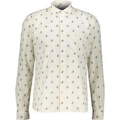 Buy Cream Abstract Pattern Shirt at TK Maxx Peter Blake, Tk Maxx, Button Down Collar, Abstract Pattern, Casual Shirts, Shirt Dress, Cream, Mens Tops, Stuff To Buy