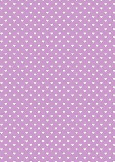 Heart Backing Paper Purple on Craftsuprint designed by Wendy Colledge - A4 background paper. Suitable for a number of occasions. - Now available for download!