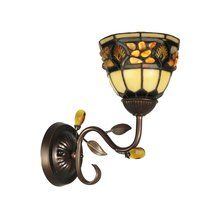 "View the Dale Tiffany TH90231 10"" x 11.5"" Pebblestone Wall Sconce at LightingDirect.com."