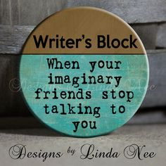 EXCLUSIVE to my Shop  Writer's Block When by DesignsbyLindaNeeToo, $1.50