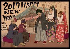 Boku no Hero Academia || My Hero Academia (Happy New Year)