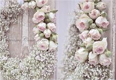 .krans gipskruid +rozen