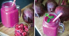 Wrinkles are unavoidable, especially once we hit 30, but this raspberry beet smoothie might just prove otherwise. According to researchers, you could reduce the depth and appearance of wrinkles with beet juice by as much as 60%!