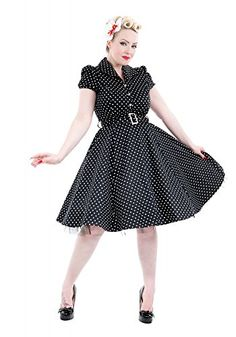 Black Pinup Lucy 50's Dress White Polka Dot Housewife Rockabilly 6839 (XS) Hearts & Roses of London http://www.amazon.com/dp/B00SA26F90/ref=cm_sw_r_pi_dp_NFO8ub0BZ1SZS