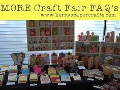 Craft Fair Question: How many items should you make?