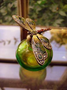 Perfume Bottle with firefly---I love fireflies!