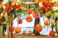 arranjos de flores laranja - Pesquisa Google