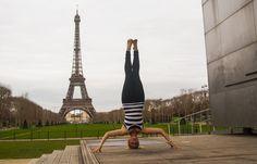 Headstand - Sirsasana, Paris, Eiffel Tower
