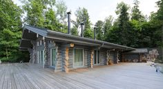 Wooden Cottage par Elena Sherbakova près de Moscou, Russie   Construire Tendance