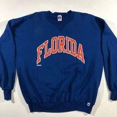 Vintage Russel athletic florda gators crewneck- - Vintage Russel athletic florda gators crewneck- Source by melissaephotos - Trendy Hoodies, Cute Sweatshirts, Cute Shirts, Cute Lazy Outfits, Outfits For Teens, Sweatshirt Outfit, Crew Neck Sweatshirt, College Hoodies, Vintage College Sweatshirts