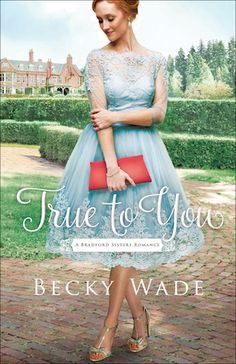 The cover of my new book! Coming in May, True to You, Bradford Sisters Romance #1.  #Christian #contemporary #romance