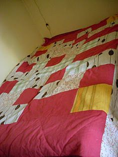 patchwork coverlet