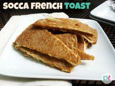 socca-french-toast #gf #grainfree #breakfast #recipe #garbanzobeanflour