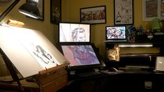 The Illustrator's Workspace - ok one day when I make a lot more money I will get these cool toys...