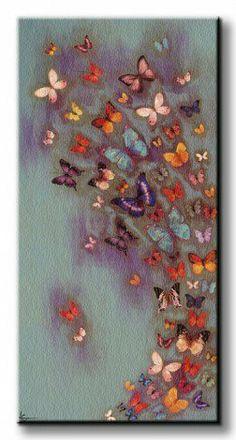 DecoArt24.pl Oryginalny obraz na płótnie noszący nazwę Mottled Aubergine .  Autorstwa: Lily Greenwood Cena 176.00 PLN ---------------- #art #artpainting #painting #abstraction #inspiration #interior #interiordesign #decoart24