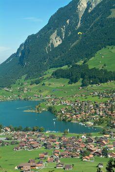 Lago Lungerersee, Burglen, Canton of Obwalden, Switzerland