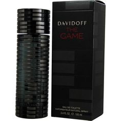 241e89a5 Zino Davidoff The Game Men's 3.4-ounce Eau de Toilette Spray, Black, Size