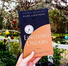 I could not get Einstein's Dreams off my mind. A quick read with short chapters, each chapter is its own story, exploring the concept of what time might look like in another reality. I was fascinated by all the ways Alan Lightman imagined time could manif I Love Books, Good Books, My Books, Books To Read, Reading Lists, Book Lists, Reading Goals, Einstein, Quick Reads