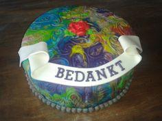 Bedankt taart