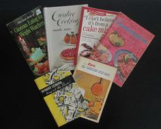 Vintage Cookbook Pamphlet Booklets- Weight Watchers/ Karo/ Sunkist Lemons/ Golden Fluffo- Buy 1 or All! AtomicPutz.com