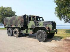 M923A2-5-Ton-Military-6X6-Cargo-Truck-1992-BMY-Harco-m923-m35a2-M998