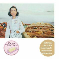 Voltamos com muitas novidades para nossos amigos e parceiros. 🌱🐟🐄🍫🍰 @donamanteiga #donamanteiga #danusapenna #amanteigadas #gastronomia #food #bolos #tortas www.donamanteiga.com.br