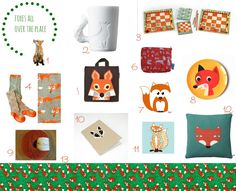 Foxes all over the place Number 3 & 8 from www.kidsdinge.com Love it ! @Christina & Durr