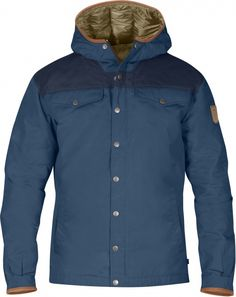 Greenland No. 1 Down Jacket Fjallraven - Uncle Blue/Dark Navy - €499,99